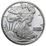 1/2 oz Silver Eagle - Walking Liberty .999 Fine (Replica)