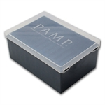 Empty Pamp 250 gm/5 oz/10 oz Bar Plastic Storage Box (Used)