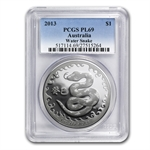 Royal Australian 2013 Year of the Snake - 1 oz PL-69 PCGS