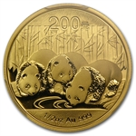 2013 (1/2 oz) Gold Chinese Panda - MS-70 PCGS