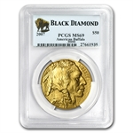 2007 1 oz Gold Buffalo MS-69 PCGS (Black Diamond)