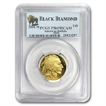 2008-W 1/4 oz Gold Buffalo PR-69 PCGS (Black Diamond)