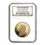 2007 1 oz Gold South Africa Krugerrand NGC PF-69 UCAM