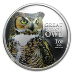 2013 1 oz Silver Niue Great Horned Owl PF-70 NGC UCAM (ER)