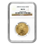 8-8-2008 Gold Double Prosperity Set MS-70 NGC