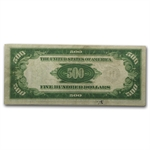 1934 (B-New York) $500 FRN (PMG Very Fine 30) LGS