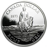 1999 Canadian Proof Silver Dollar - Royal Canadian Mounted Police