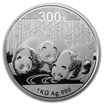 2013 1 Kilo Proof Silver Chinese Panda (w/box & CoA)