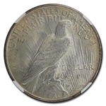 1922 Peace Dollar MS-66 NGC - CAC