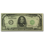 1934-A (G-Chicago) $1,000 FRN (Very Fine Plus)