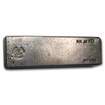 Seaside Silver Recovery - Silver Ingot Bar .999 Fine (102.18 oz)