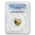 2010-W 1/10 oz Proof Gold American Eagle PR-69 PCGS