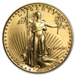 1990 MCMXC 1 oz Gold American Eagle - Brilliant Uncirculated