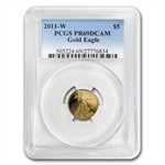 2011-W 1/10 oz Proof Gold American Eagle PR-69 PCGS