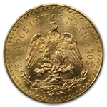 Mexico 1944 50 Pesos Gold Coin MS-66 PCGS - Finest Known!