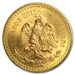 Mexico 1946 50 Pesos Gold Coin - MS-66 PCGS