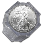 1999 Silver American Eagles - BU NGC - 20-Coin Sealed Tube
