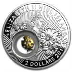 Niue 2012 Proof Silver $2 Lucky Coins Series - Ladybird