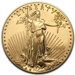 1999 1 oz Gold American Eagle - Brilliant Uncirculated