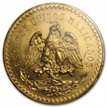 Mexico 1931 50 Pesos Gold Coin - MS-63+ PCGS