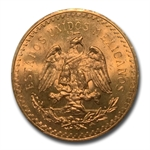 Mexico 1943 50 Pesos Gold MS-65+ PCGS