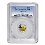 2013 1.9 oz Gold Mexican Libertad 5-Coin Proof Set PR-70DCAM PCGS