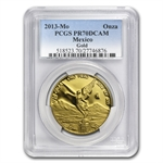 2013 1.9 oz Proof Gold Libertad 5-Coin Set PR-70DCAM PCGS