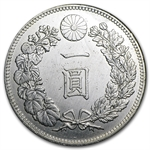 Japan Year 29 of Meiji (1896) Silver Yen AU