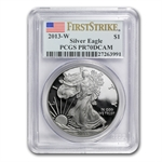 2013-W Gold & Silver American Eagle Set PCGS PR-70 First Strike