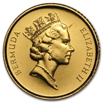 Bermuda $10 Gold Proof (AGW .1007) Random Dates