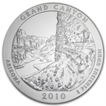 2010-P 5 oz Silver ATB Grand Canyon PCGS SP-65 PCGS - Light Satin