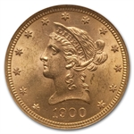 1900 $10 Liberty Gold Eagle - MS-65 NGC