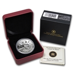 2013 1 oz Silver Canadian $25 Coin - An Allegory