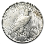 1923 Peace Dollar - AU-58 VAM-1D Whisker Cheek Top-50