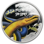 2013 1 oz Proof Silver Yellow-Bellied Snake - PR-70 DCAM PCGS