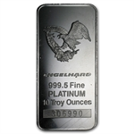 10 oz Engelhard Platinum Bar ('Eagle' logo, No Assay) .9995 Fine