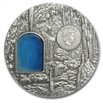 Niue 2012 2 oz Silver $2 Crystal Art - Secrets of Lichtenstein