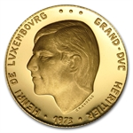 Luxembourg 1973 Gold Medal (Grand Duke Henri)