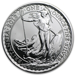 2013 1 oz Lunar Silver Britannia - Year of the Snake