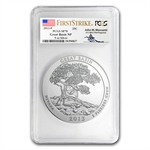 2013-P 5 oz Silver ATB - Great Basin SP-70 (FS) PCGS-Mercanti