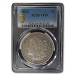 1893-S Morgan Dollar Very Fine-20 PCGS