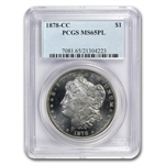 1878-CC Morgan Dollar - MS-65 PL Proof Like PCGS