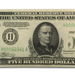 1934 (H-St. Louis) $500 FRN (Almost Uncirculated)