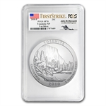2010-P 5oz ATB Yosemite PCGS SP-70 PCGS FS John Mercanti Label