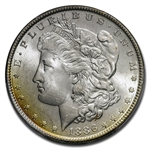1878-1904 Morgan Dollars - MS-65 PCGS - Beautifully Toned