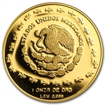 1998 Mexico 100 Pesos 1 oz Proof Gold Aguila