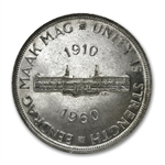 South Africa 1960 Silver 5 Shillings Proof-Like