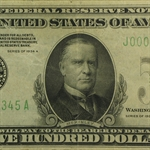 1934-A (J-Kansas City) $500 Federal Reserve Note (Very Fine)