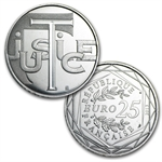 2013 8,500 France Euro Values of the Republic 7 Face Value Coins