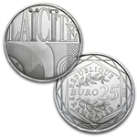 2013 France Euro Values of the Republic 7 Face Value Coins